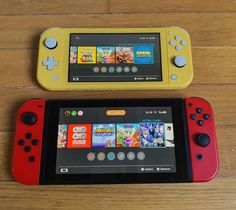Testing the Switch Lite, an excellent portable version 2019 1 Nintendo 3ds, Nintendo Consoles, Portable Console, Space Music, Nintendo Switch Accessories, Ds Lite, Only Play, Retro Video Games, Indie Games