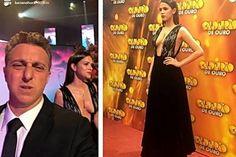 Calderão de ouro : Selfie de  Luciano Huck mirando decote de Bruna Marquezine - http://jornalprime.com/calderao-de-ouro-selfie-de-luciano-huck-mirando-decote-de-bruna-marquezine/
