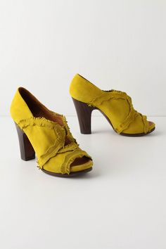 Curried Heels from Anthropologie.
