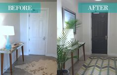 This one small task is amazingly transforming! myfrenchtwist.com #doorMakeover