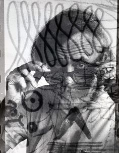 Self-Portrait with Glasses by Richard Pousette-Dart on Curiator - http://crtr.co/1qzx.p