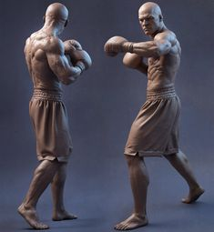 [image] Title: Boxer Turnaround Name: Sandeep VS Country: India Software: Maya ZBrush marvelous designer Arnold Photoshop Submitted: March 2015 free time sculpt I did in zbrush and rendered using arnold Anatomy Drawing, Anatomy Art, Human Anatomy, Figure Drawing Reference, Anatomy Reference, Pose Reference, Anatomy Sculpture, Sculpture Art, Art Poses