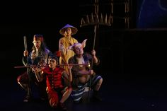 John Bell and Kim Carpenter's Theatre of Image spread a little 'Monkey Magic' in Sydney's West. John Bell, Journey To The West, Little Monkeys, Arts And Entertainment, Behind The Scenes, Theatre, Cool Art, Pilgrims, City