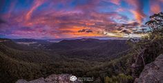 Pink Skies over the Kanimbla Valley (Gary P. Hayes Photography)