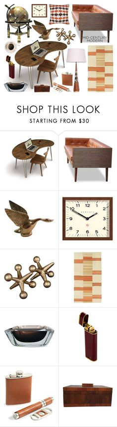 """""""Hamm's Home Office"""" by jasmine-arminda ❤ liked on Polyvore featuring interior, interiors, interior design, home, home decor, interior decorating, Copeland Furniture, Newgate, Bey-Berk and home office"""