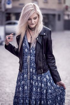 Faye Oracle #1  | My friend and blogger Faye wearing Spell Designs Oracle Dress | Moonlight Bohemian Bohemian Gypsy, Boho, Spell Designs, Moonlight, Raincoat, Fashion Photography, Leather Jacket, How To Wear, Dresses