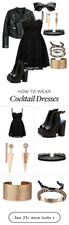 """Untitled #1051"" by ayeeeitsfatso on Polyvore featuring Reverse, Platadepalo, Rebecca Minkoff, Panacea and Azalea"