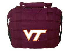 Cool! :)) Pin This & Follow Us! zCamping.com is your Camping Product Gallery ;) CLICK IMAGE TWICE for Pricing and Info :) SEE A LARGER SELECTION of camping coolers at   -  #hunting #campingaccessories #camping #insulatedbags #coolers #campinggear #campsupplies -  Rivalry NCAA Virginia Tech Hokies Cooler Bag « zCamping.com