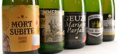 Belgian geuze beers #beer #belgianbeer #geuze