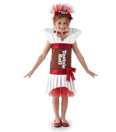 tootsie roll® costume - you'll rock in this fabulous Tootsie Roll costume!