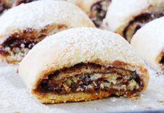 מתכון עוגיות מגולגלות במילוי שוקולד-חלבה » ספר המתכונים שלי Nutella, Pasta, Cake Cookies, Chocolate, Hamburger, Food To Make, Cake Recipes, Sweets, Beef