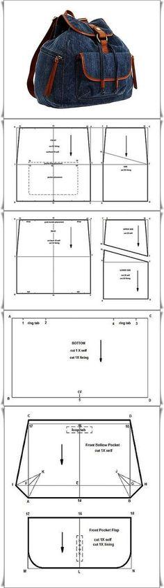 Craft Étoile Coin Craft Etoiles: sac en papier mâché schématique -3