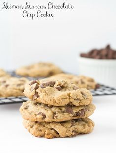 Neiman Marcus Chocolate Chip Cookies #cookie #chocolatechip #chocolate #neimanmarcus