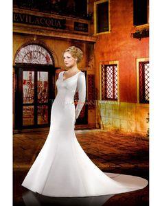 Printemps 2014 Brillant & Séduisant Manche longue Robes de mariée 2014