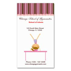 Sold this #gymnastics business card to CO. tx