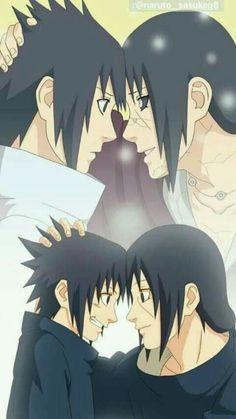 Naruto Sasuke Uchiha and Itachi Uchiha Naruto Shippuden Sasuke, Naruto Kakashi, Anime Naruto, Naruto Sad, Art Naruto, Naruto Cute, Naruto Sasuke Sakura, Naruto Wallpaper, Wallpaper Naruto Shippuden
