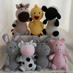 crochet animals by andigurumi on Etsy