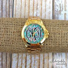 Monogrammed+Lilly+Pulitzer+Inspired+by+ShopAdorableAccents+on+Etsy,+$41.95