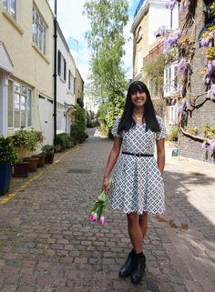 Zeena Dress - PDF Sewing Pattern – By Hand London 2.4 yards