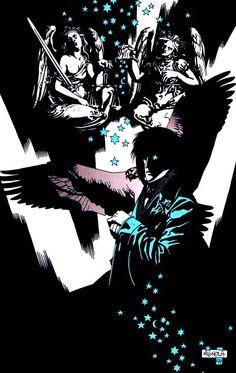 brianmichaelbendis:  The Sandman by Mike Mignola