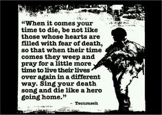 One of my favorite military quotes, when i die il be thinking of this quote i guarantee. Military Quotes, Military Humor, Military Life, Army Quotes, Military Units, Tecumseh Quote, Wisdom Quotes, Life Quotes, Quotes Quotes