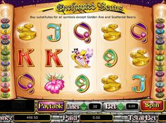 Enchanted Beans - http://freeslots77.com/enchanted-beans/ - Enchanted Beans is a 5-reel, 30-payline free online slot game. The storyline of this slot machine is based on the classic fairy tale Jack and the Beanstalk. Giant's castle is the highest paying symbol. Other than regular icons, this no registration game has a scatter symbol which is an image of t...
