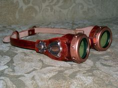 Martha McGuyvers Imaginarium: Steampunk Goggles for the Lady - Tutorial