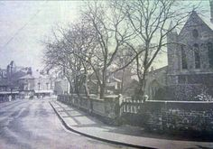 St James Church approach from Deansgate. Grimsby. N E Lincs