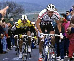 #Roche y #Lejarreta #Ciclismo #Cycling #CristobalCabezas