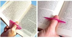 finger book holder