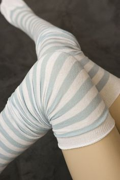 M Stripes - Really long striped cotton socks that are comfy and stay up well. If you have thinner legs or want to make sure they stay up you might try adding sock garters . Made in the USA. Striped Socks, Knee High Socks, Tall Socks, Thigh High Boots, Sexy Socks, Cute Socks, Comfy Socks, Boot Socks, Inspired Outfits