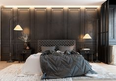 Bedroom Interior Designs (155) https://www.snowbedding.com/