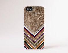 Trend Gadget Accessories Wood Print Chevron iPhone par casesbycsera
