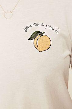 Future State Peachy Ringer T-shirt - Urban Outfitters - black button down short sleeve shirt, white fitted mens shirt, mens shirt shops *sponsored https://www.pinterest.com/shirts_shirt/ https://www.pinterest.com/explore/shirt/ https://www.pinterest.com/shirts_shirt/custom-shirts/ http://www.calvinklein.us/shop/en/ck/search/mens-shirts