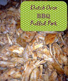 Recipe:  Pork - Dutch Oven BBQ Pulled Pork