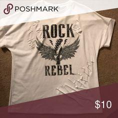 Rock rebel shirt Only worn a few times Tops Tees - Short Sleeve