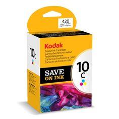 Kodak Genuine 10C Ink Cartridge - Coloured (420 Pages) - KODAK Colour Ink Cartridge 10C 3949930 Consumables Ink and Toner Cartridges  - http://ink-cartridges-ireland.com/kodak-genuine-10c-ink-cartridge-coloured-420-pages/ - 10C, 420, cartridge, Coloured, Genuine, Ink, KODAK, pages