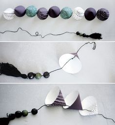 DIY Paper Mobile wit