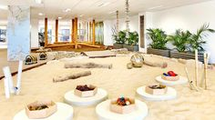 Indoor Play/Sand Area from Guardian Early Learning Center in in North Sydney (ww. Daycare Design, Playroom Design, Kid Playroom, School Design, Outdoor Learning Spaces, Play Spaces, Learning Centers, Early Learning, Number Games Preschool