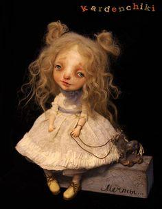 Art doll - . kardenchiki