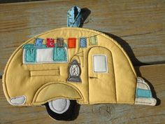 2012 Camping Potholder Series, Tab Camper Trailer ,Tear Drop.