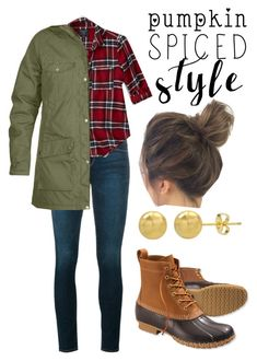 """""""Fall Capsule #14"""" by ruemjean on Polyvore featuring Frame, L.L.Bean and Abercrombie & Fitch"""