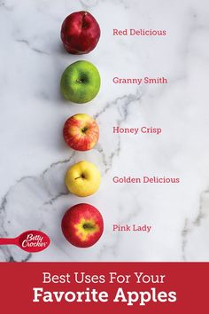 When you run into a question while slicing up apples for an aromatic pie or warm bubbly crisp, Betty's got the answers you need. Consider this your quick guide to making the most of apple season. Best Apple Recipes, Holiday Recipes, Family Recipes, Stove Top Meatloaf, Martha Stewart Cooking School, Apple Deserts, Apple Season, Apples To Apples Game, Kitchen Helper