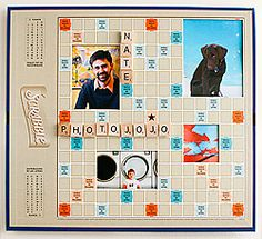 scrabble board into a picture frame http://content.photojojo.com/wp-content/uploads/2009/02/extra-3.jpg