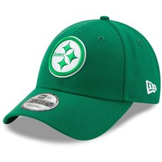 Men s Pittsburgh Steelers New Era Kelly Green St. Patrick s Day League 9FORTY  Adjustable Hat 2283141ad