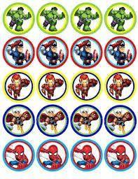 Resultado De Imagem Para Papelaria Personalizada Os Vingadores