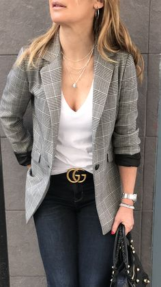 Summer fashion outfits ideas to work outfits 2019 - Summer Work Outfits Casual Friday Work Outfits, Casual Holiday Outfits, Blazer Outfits Casual, Stylish Winter Outfits, Fall Outfits For Work, Business Casual Outfits, Summer Fashion Outfits, Fashion Ideas, Look Blazer
