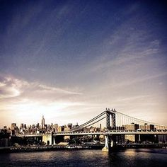 manhattan bridge with twin towers photo - Google Search