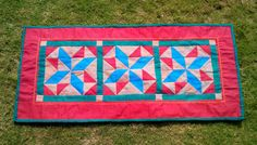 marble stars patch work runner 155 x 34 by chezvies on Etsy, $20.00