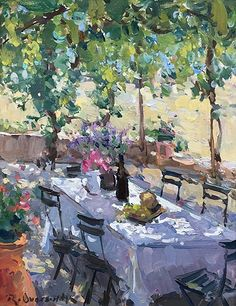Richard Oversmith - Portfolio of Works: Plein Air Paintings Source by ettadog. Paintings I Love, Beautiful Paintings, Landscape Art, Landscape Paintings, Garden Painting, Impressionist Art, Art Themes, Art Techniques, New Art